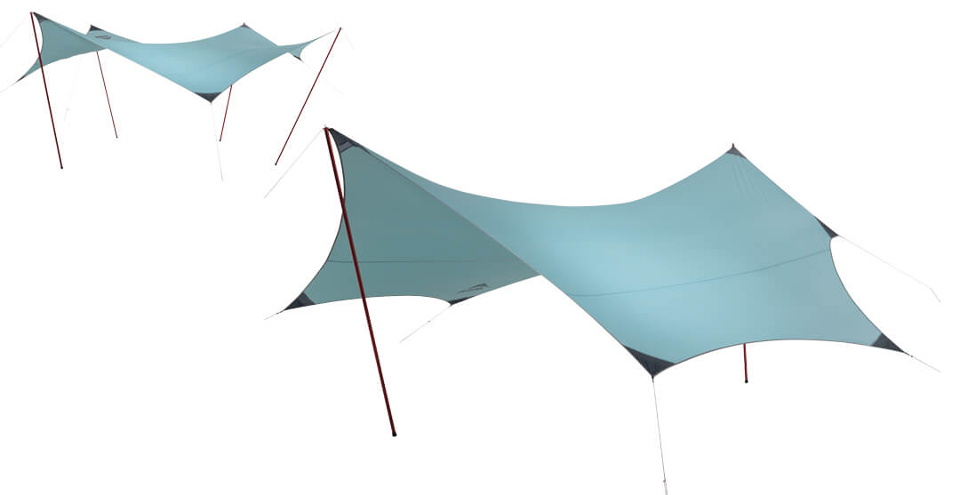 Płachta biwakowa MSR Rendezvous 200 Wing