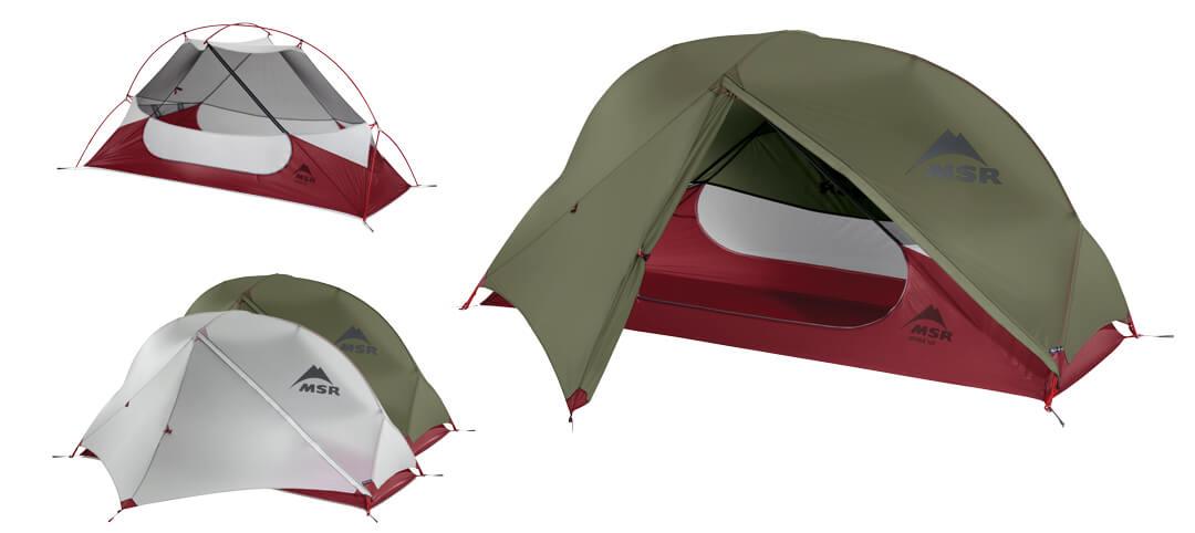 Jednoosobowy namiot turystyczny Hubba NX