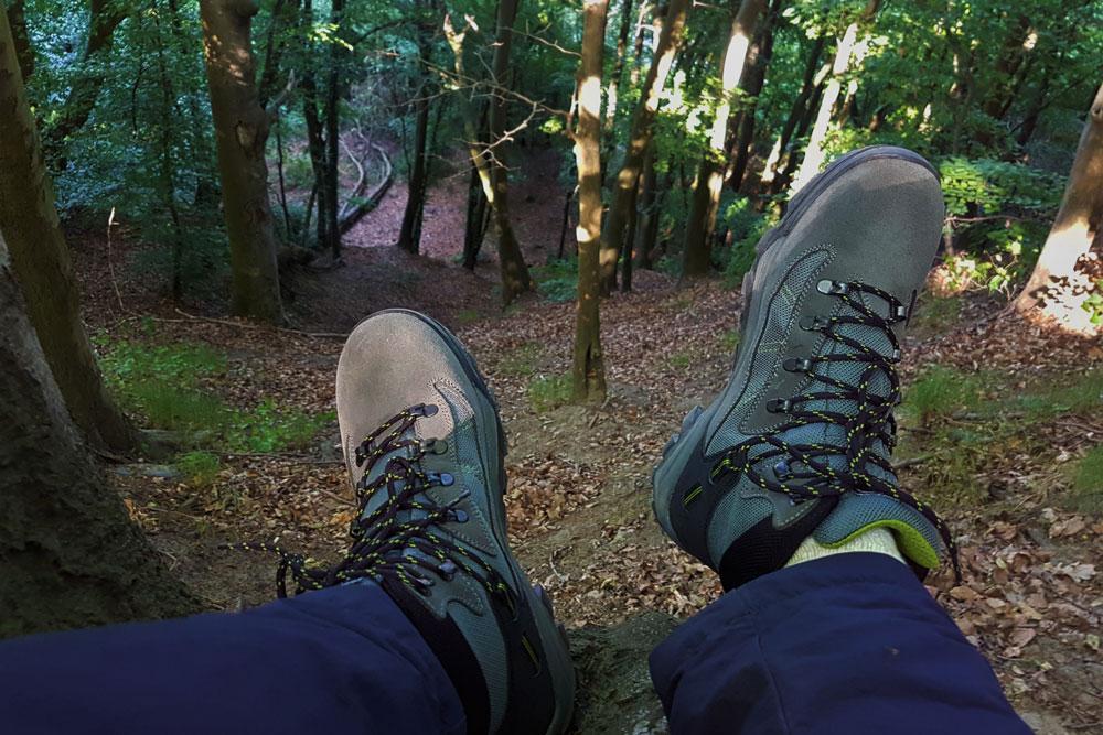 Buty trekkingowe Misurina świetnie sprawują się również w lesie