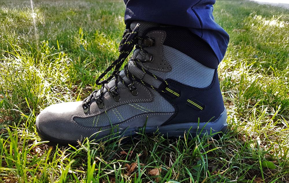 Buty są fabrycznie długotrwale zaimpregnowane