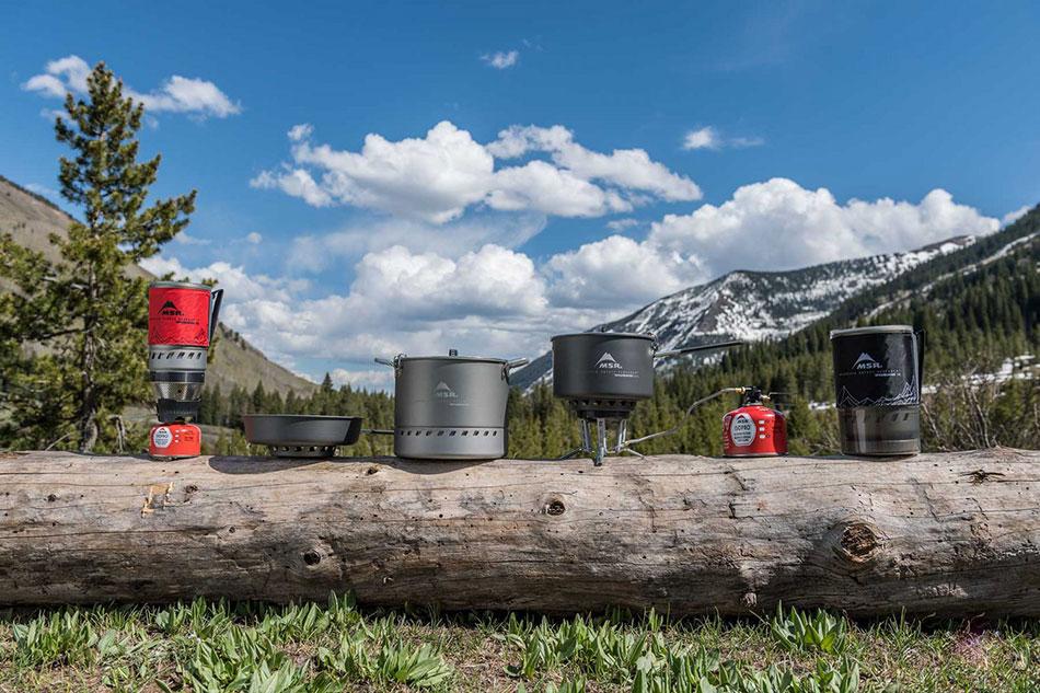 Zestaw kuchenki turystycznej MSR Windburner