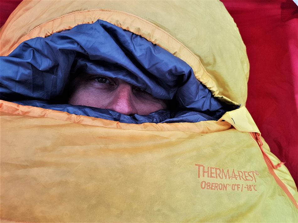 Test Śpiwora Puchowego Thermarest Oberon -18C