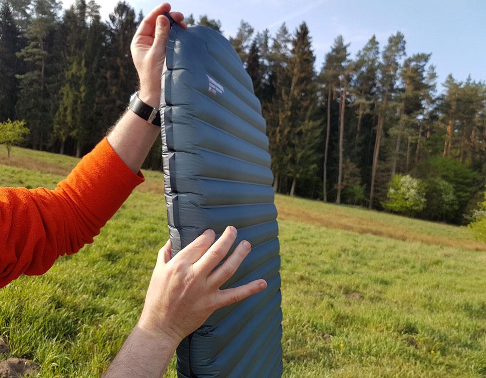 Thermarest Uberlite – 6,4 cm grubości to wygodny sen nawet dla najbardziej wymagających użytkowników.