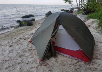 Test namiotu całorocznego MSR Access 2