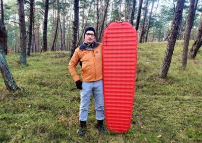 Test maty samopompującej Thermarest Apex – Rafał Król